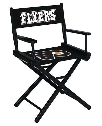 Imperial Officially Licensed NHL Merchandise: Directors Chair (Short, Table Height), Philadelphia Flyers