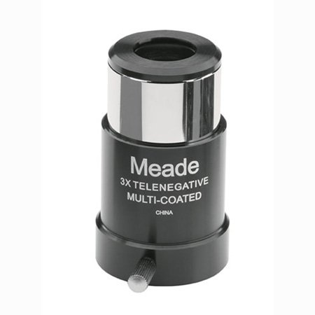 Meade Instruments 128 3 x 1.25 Inches Barlow Lens for sale  Delivered anywhere in USA