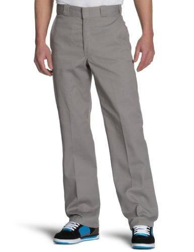 Dickies - Original 874® Work Pant Feizeit chino Herren Hose Silver Grey Größe 28/30