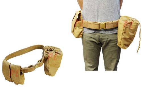 TAN Molle Tactical Dragonspine Utility Pouches product image
