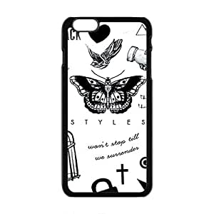 Happy Ican't change Fashion Comstom Plastic case cover For Iphone 6 Plus