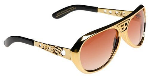 Elope Elvis Classic gold/Brown - Sunglasses Presley Elvis