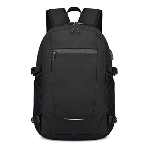 Viaje De Black Portátil Para Nylon Compartimiento color Light Puerto Mochila Gray Usb Daypacks Con Hemotrade Carga Computadora tBUqx5wHR