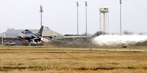 Langley Air Force Base - Home Comforts Laminated Poster Takes-Off During a Practice Scramble at Langley Air Force Base, Virginia (USA), on Monday, 6 March Vivid Imagery Poster Print 24 x 36