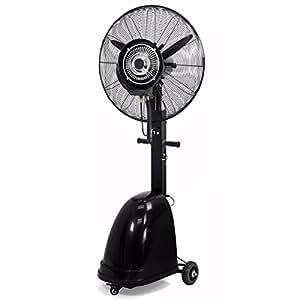 """Comercial Industrial ventilador negro 26""""alta velocidad interior y exterior para portátil con vaporizador Cool"""