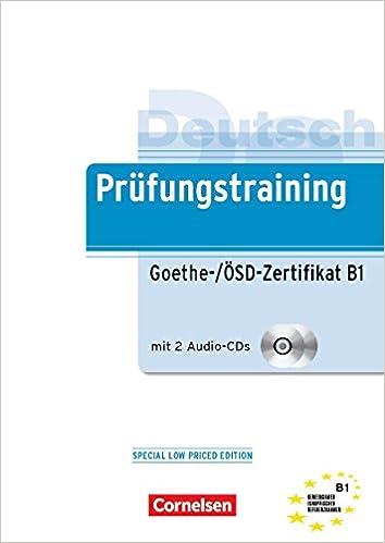 Buy PRÜFUNGSTRAINING DAF: B1 - GOETHE-/ÖSD-ZERTIFIKAT B1 Book Online ...