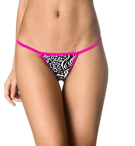 THE MESH KING Coqueta Brazilian Teeny Itsy Bitsy Micro Thong Mini Bikini Swimsuit G String Wild -