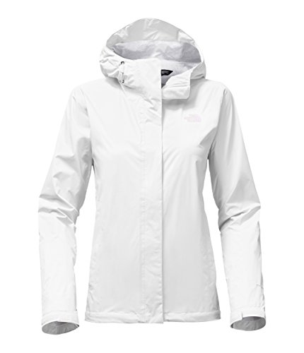 The North Face Women's Venture 2 Jacket(Large,TNF White) (White Face)