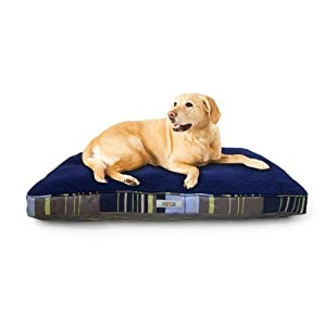 ASPCA Reversible Striped Gusseted Pillow Bed 23