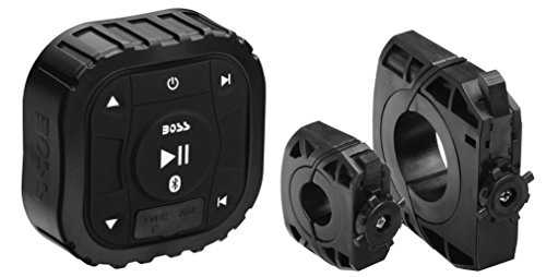 Boss Audio UBAC50D Universal Amplified, Bluetooth Controller Ideal for Cars, ATV's, UTV's, Boat's, Boat's, Motorcycle's, RV's, Golf Cart's and Snowmobiles With No Receiver