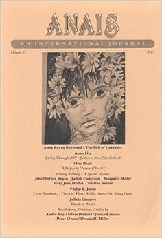 Anais An International Journal: Vol. 3, 1985