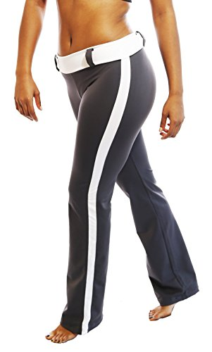EXERCISE YOGA FITNESS WORKOUT Dri Fit PANTS Steel Gray