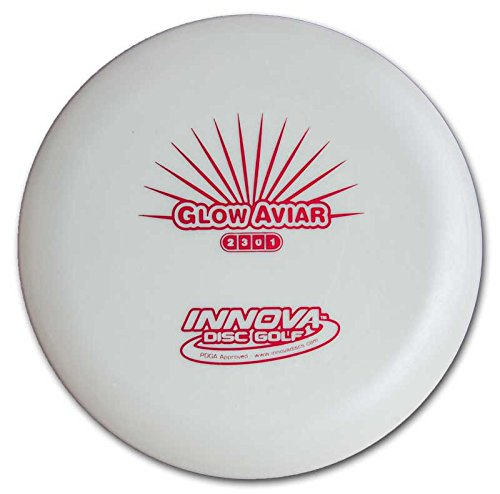 Innova Disc Golf Glow DX Aviar Putter Golf Disc, 170-172gm (Colors may vary) Aviar Golf Disc