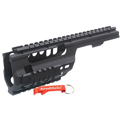 ABS Pl?stico MP5K / PDW, MOD5K Riel para Airsoft Marui, JG, Classic Army, Galaxy AEG - AirsoftGoGo Llavero Incluido ARMY FORCE