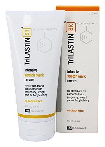 NEW! TriLASTIN-SR Intensive Stretch Mark Cream - 5.5oz