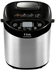 T-fal 7211001527 Bread Machine, 14.02 x 12.52 x 16.06 inches, Stainless steel