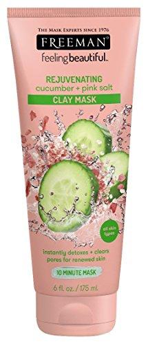 ber and Pink Salt Clay Mask, 6 oz. (Freeman Facial Clay Mask)
