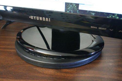 Heavy Duty Swivel for Flat Panel Monitors and Big Screen TV's - circle base
