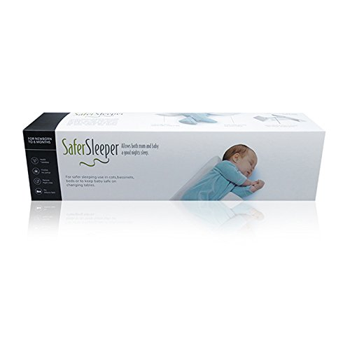 Newborn Baby Side Positioning Sleep Wedge Pillow for Boys and Girls May Prevent Flat Head and Acid Reflux by ROHKLER (Image #4)