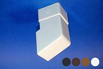 Joiner RWSS1 Black White Brown Clay BLACK Marshall Tufflex Square 65mm Pipe Socket
