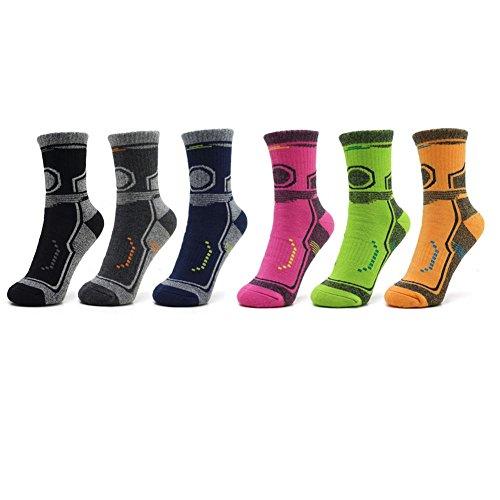 Chaussettes de randonnée de haute qualité, épaisses chaussettes de ski Terry pour les femmes et les hommes