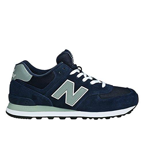 New Balance M574 D (13H) - Zapatillas para niño Azul oscuro