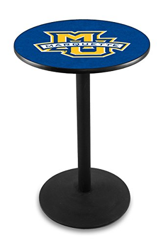 Holland Bar Stool L214B Marquette University Officially Licensed Pub Table, 28