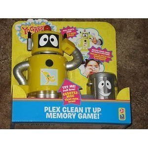 Buy Yo Gabba Gabba Plex Clean It Up Memory Game Online At Low Prices In India Amazon In