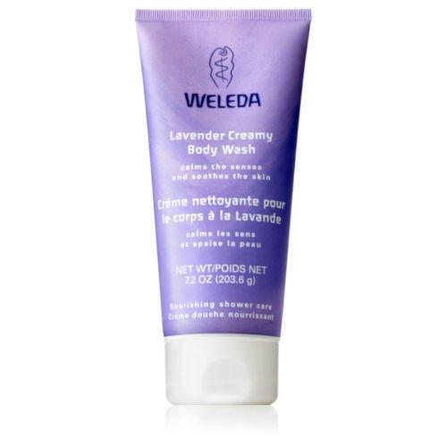 Weleda Creamy Body Wash, Lavender, 6.8 Fluid Ounce (Lavender Creamy)