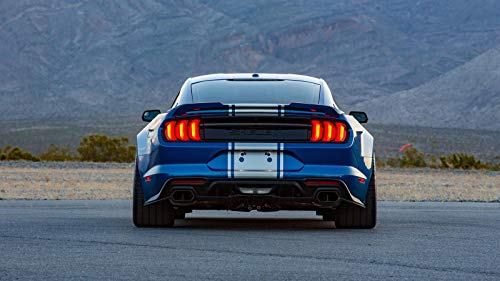 Shelby Super Snake Wide Body Car Poster Print #2 (24x36 Inches) (Shelby Super Snake)