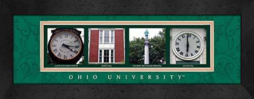 Big Bold Border (Prints Charming Letter Art Framed Print, Ohio University-Ohio, Bold Color Border)