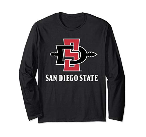 San Diego State Aztecs SDSU NCAA Long Sleeve PPSDS04 (San Diego State University Colors And Mascot)