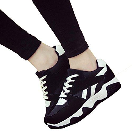 Primavera Y Otoño Sra CHT Salvaje Zapatos Ocasionales De Los Deportes White