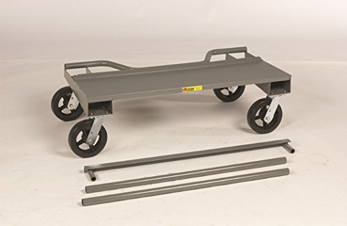 Little Giant DC-2444-8MR-KD Knock-Down Drywall Cart, 24'' x 44'', Gray