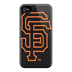 Great Cell-phone Hard Cover For Iphone 4/4s (PbX9427hzbN) Allow Personal Design HD San Francisco Giants Series