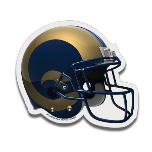 NFL St. Louis Rams Football Helmet Design Mouse Pad