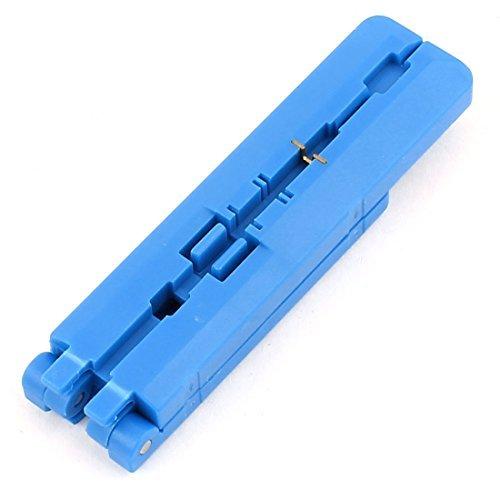 DealMux TH longitud fija de fibra ó ptica alambre de corte Stripper Recubrimiento guiador Camino DLM-B01AUQ4OS2