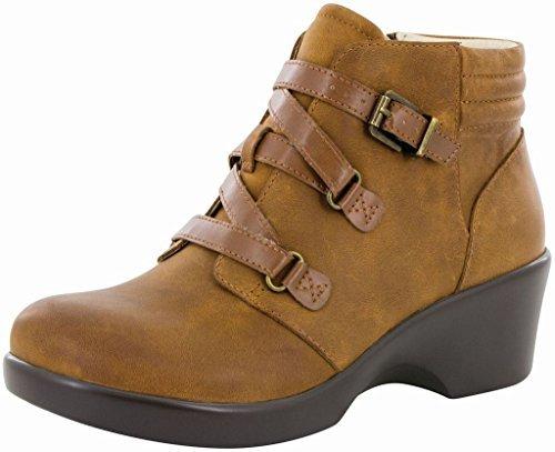 Alegria Womens Indi Ankle Boot Walnut Size 36 EU (6-6.5 M US - Indi Brown