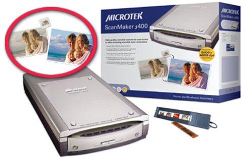 Microtek ScanMaker S400 Flatbed Scanner by Microtek