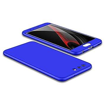 PAIPAIGUAN Funda Huawei P10 Carcasa Huawei P10[Protector de Pantalla de Vidrio Templado] 3 en 1 Desmontable Anti-Arañazos Huawei P10 Funda 360 ...