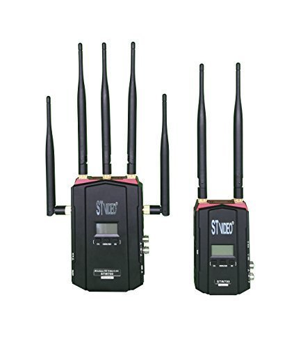 長い範囲Super Low LatencyワイヤレスHDビデオリンクシステム5 GHzワイヤレスHDMI / SDIビデオ伝送   B016ZR9YJE