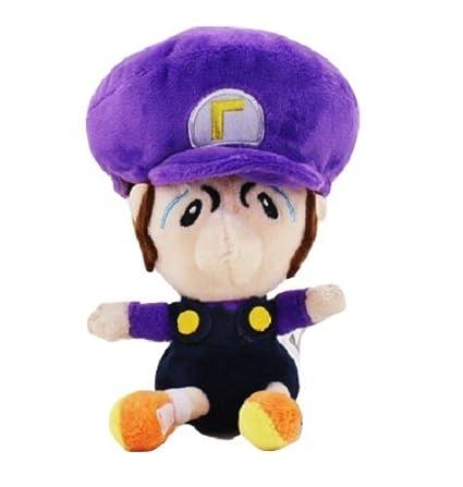 amazon com super mario bros plush 5 13cm baby waluigi character