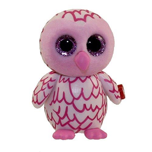 0fd8d908267 TY Beanie Boos - Mini Boo Figure - PINKY the Pink Owl (2 inch)