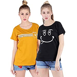 Broadstar Women's T-Shirt (Pack of 2)