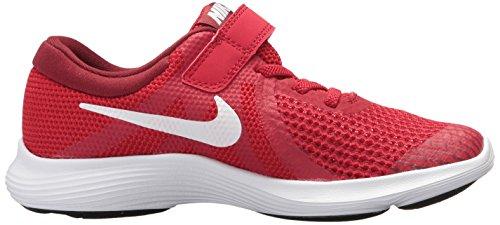 Nike Revolution 4 (PSV) Unisex-Kinder Gym Red/White - Team Red - Black
