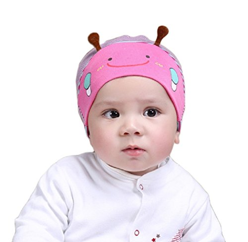 (Cute Kid Baby Boy Girl Toddler Infant Hat Bee Baseball Beret Cap By Orangeskycn (Hot Pink))