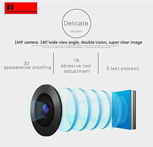 VBESTLIFE Digitaler T/ürspion,4,3 Zoll TFT LCD Bildschirm T/ürklingel,Viewer Kamera T/ürklingel mit Nachtsicht Weitwinkel Videoaufnahme//Fotoaufnahme f/ür 40 bis 110 mm Dicke T/üren