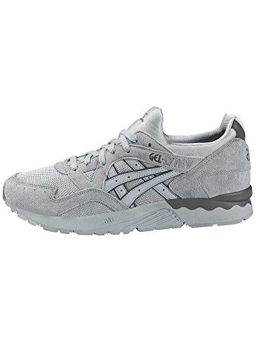 Asics Unisex Adults' Gel-Lyte V Low-Top Sneakers Light Grey/Light Grey Zxh6g3