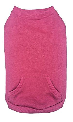 Fashion Pet 550646 Pink Outdoor Dog Sweatshirt, Large