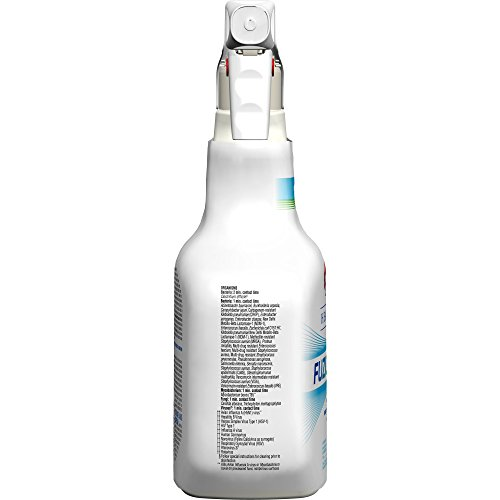 Clorox Healthcare Fuzion Cleaner Disinfectant, Spray, 32 Ounces (For Healthcare Use) by Clorox (Image #2)